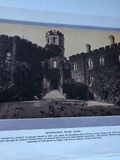Warwickshire 1924: Headmaster's House Rugby Smithy Dunchurch Newbold On Avon