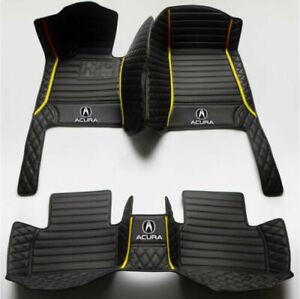 Fit Acura ILX MDX RDX TL RL TLX ZDX CDX TSX Non-slip Custom Luxury Car Floor Mat
