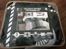 New Michigan State Msu Collegiate Twin Bedding Set Comforter, Sham, Sheets, 5 Pc
