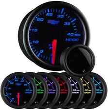 GlowShift Tinted 7 Color High Pressure Oil Pressure HPOP Gauge