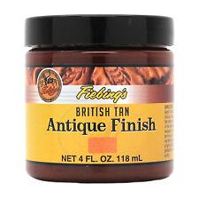 Fiebing's Antique Finish British Tan Paste 4 oz 21980-08 Leather Dye