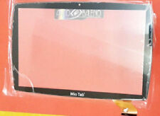 """VETRO+TOUCH SCREEN PER LISCIANI MIO TAB 10"""" TUTOR 64229 NERO DISPLAY MP0101066"""