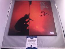 BONO Signed U2 Under A Blood Red Sky Vinyl Album Beckett BAS Cert