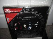 KISS THE ORIGINALS 1974-1979 VINYL ALBUM RECORD BOXSET JAPAN LP ACE SEALED