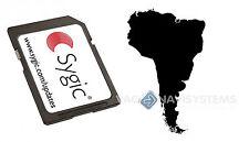 Sygic 2015 3D V13.11 WINCE 5.0, 6.0 Original - América del Sur (8GB Micro SD)