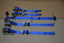 Juego 5 cinturones de seguridad Azules (R32 Style) VW Golf Mk4 R32 GTI seatbelt