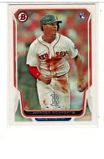 2014 Bowman Baseball #84 Xander Bogaerts RC Boston Red Sox
