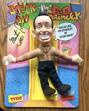 "AUTOGRAPHED 1989 TYCO - HANNA BARBERA ""ED GRIMLEY"" -  HANDS STICK ON - NOC"