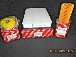 Landcruiser VDJ79 Filter Kit VDJ78 VDJ76 1VD-FTV 4.5L Diesel Genuine Save$ Sale