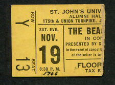 1966 The Beach Boys Chad & Jeremy concert ticket stub St Johns U. Pet Sounds