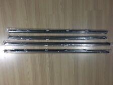 Weatherstrip Door Belt Rubber Window Chrome Trim Glass for 1992-1995 Honda Civic
