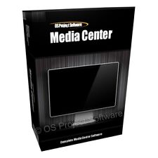 Multi Media Center - Turn PC MAC into Home Cinema TV DVD Player Software Program