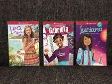 American Girl: chica del año 3x Libro Lote 2016-2018 Lea Gabriela Luciana Nuevo