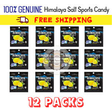 Himalaya Salt Mint Candy Lemon Flavor 12 Packs. 100% Genuine