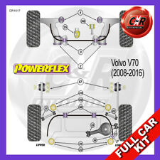 Volvo V70 (2008 - 2016) Rear Subframe Front Inserts Powerflex Complete Bush Kit