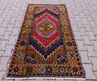 Medallion Design Unique Ouhsak Carpet Anatolian Oriental Handmade Area Rug 4x6ft