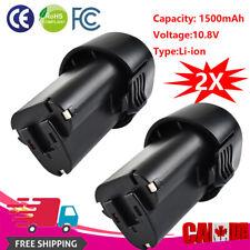 2× 10.8V 1500mAh Li-ion Battery for Makita BL1013 BL1014 194550-6 194551-4 HT