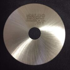 Malco Jewelry 2-1/2 x 0.018 x 1/2 190T HSS Slitting Slotting Saw