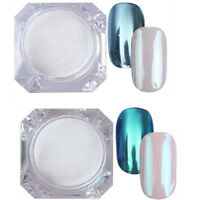 2Boxes 1G BORN PRETTY Nail Art Mirror Powder Glitter Chrome Pigment