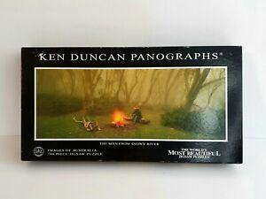 Ken Duncan Panographs The Man From Snowy River 748 Piece Jigsaw Puzzle