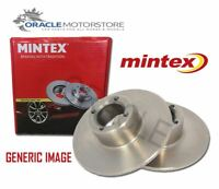NEW MINTEX REAR BRAKE DISCS SET BRAKING DISCS PAIR GENUINE OE QUALITY MDC1568