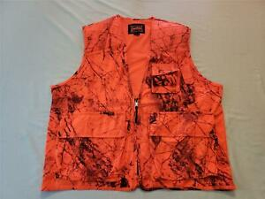 Gamehide Men's Sneaker Big Game Hunting Vest AB3 Naked North Orange Camo Medium