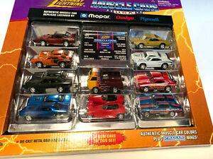 Johnny Lightning 1998 Mopar 10 Car Box Set Edition #2 Muscle Cars USA New in Box