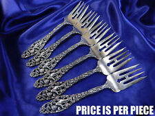 DOMINICK & HAFF LABORS OF CUPID STERLING SILVER SALAD FORK REISSUE - EXCELLENT
