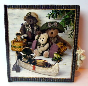 Boyds Bears Collection Album Photo Book Camping Trip