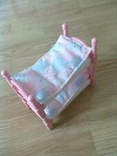 Little Tikes Dollshouse Bunk Beds/Bedding - RARE FREE POSTAGE