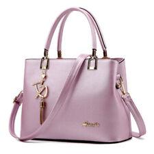 Women PU Leather Handbags Crossbody Shoulder Tote Satchel Bag Purse Messenger