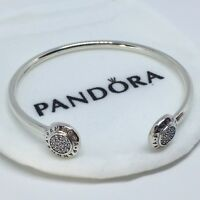 Sterling Silver Pulsera SELLO LOGO 17 cm ALE S925 Genuine Pandora bag