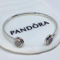 Sterling Silver Pulsera SELLO LOGO ALE S925 Genuine Pandora bag