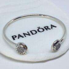 Sterling Silver Pulsera SELLO LOGO 17 cm ALE S925 Genuine Pandora bag