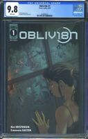 Obliv18n 1 (Scout Comics) CGC 9.8 White Pages Premier issue 1 of 2 in CGC census