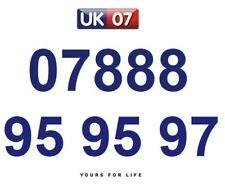 07888 95 95 97 Gold Easy Memorable Business Platinum VIP UK Mobile Phone Number