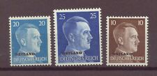 Germany,WWII Occupation, Estonia, Latvia, Lithuania, MH, MNH, 1941 - 1943, OLD