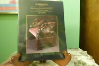 Sothebys Imporant English Furniture And Decorations 1994 NM Cond Paper Back