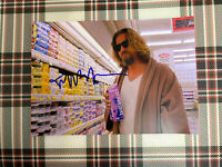 📸 Jeff Bridges Dude The Big Lebowski signed photo 6x8 inch coa