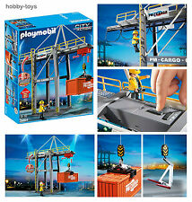 Playmobil * de chargement de fret terminal grue 5254 pour aéroport/docks/train * neuf