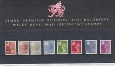 Royal Mail Definitive Presentation Pack 7 MNH 10p-31p Wales Stamps c