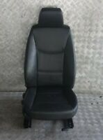 BMW 3 Series E90 E91 Heated Black Leather Interior Front Right O/Side Seat
