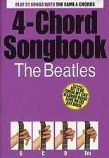 The Beatles 4 acorde Cancionero Guitarra Libro De Partituras Nuevo. lo Mejor De Greatest Hits