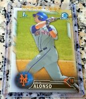 PETER PETE ALONSO 2016 Bowman CHROME 1st Rookie Card RC N.Y. METS 53 HRs $ HOT $
