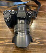 Panasonic LUMIX G7 16MP Digital SLR Camera - Black (Kit with 14-140mm Lens)