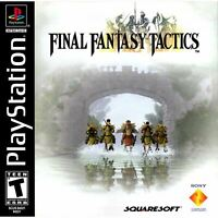 Final Fantasy Tactics PlayStation 1 PS1 Game Complete *CLEAN VG