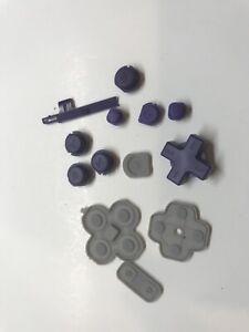 Nintendo New  2DS XL Purple Buttons Set Replacement Repair Part  OEM abxy volume