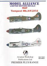 Model Alliance Decals 729021 1:72 Hawker Tempest Mk.II  /F.2 / F.6