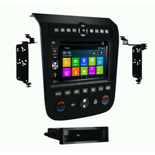 In Dash Navigation GPS Radio Bluetooth DVD For Player 03-07 Nissan Murano Black