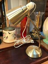 Retro Vintage 1950's Anodised Gold Australian Daydream Desk Table Bedside Lamp